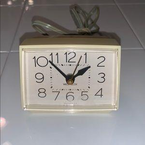 Vtg Westclox Bold II alarm clock